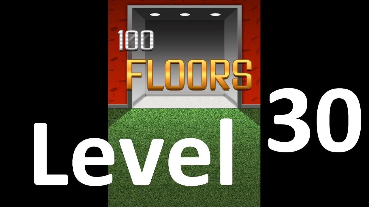 100 Floors Level 30 Floor 30 Solution Iphone Ipad Ipod