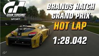 GT Sport Hot Lap // Daily Race B (20.01.20) Gr.4 // Brands Hatch