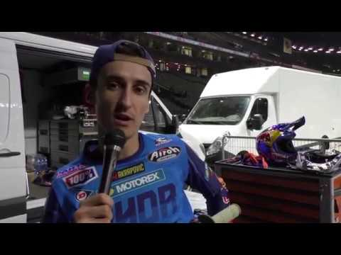 Supercross de Paris : Le clip du Press Day @ Motoverte.com
