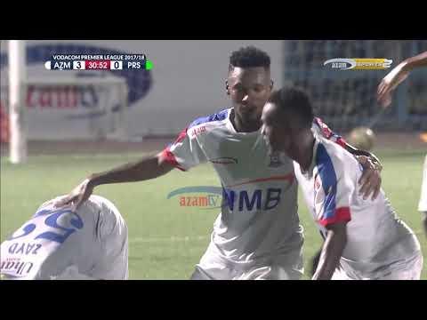 AZAM FC VS TANZANIA PRISONS: MAGOLI YOTE