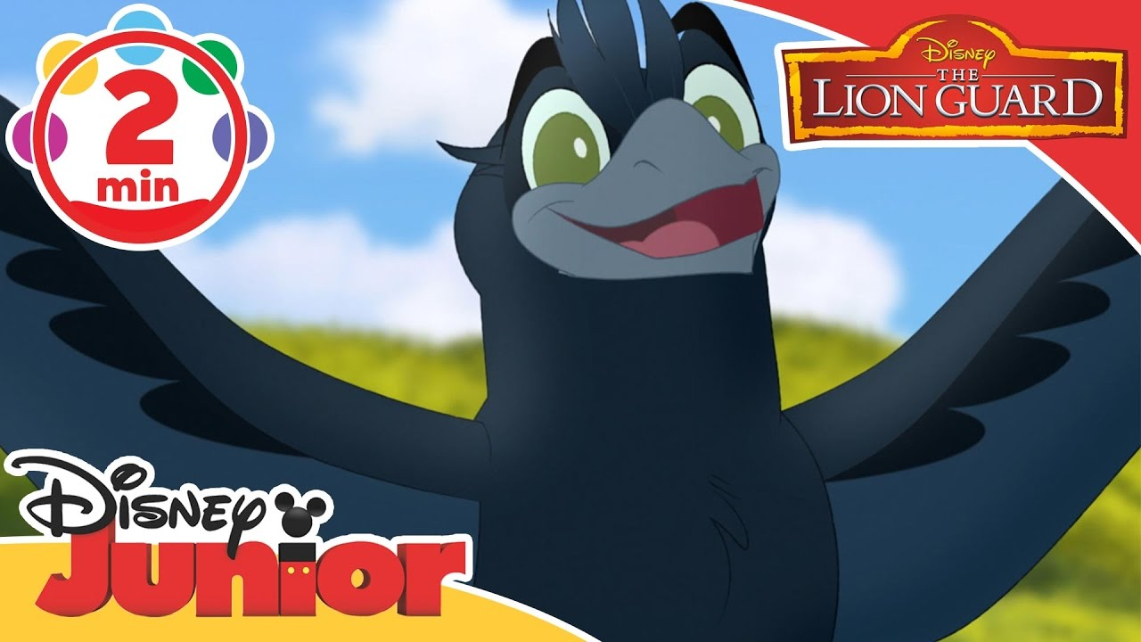 Musical Moments | The Lion Guard: Bird Of A 1000 Voices | Disney Junior UK