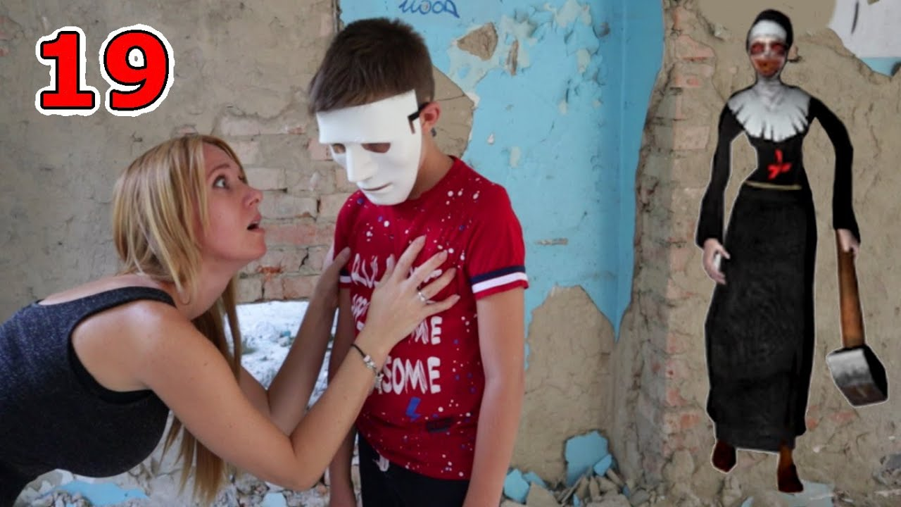Как СПАСТИ Тиму от Монахини? 19 серия Evil Nun и Ice Scream in real life