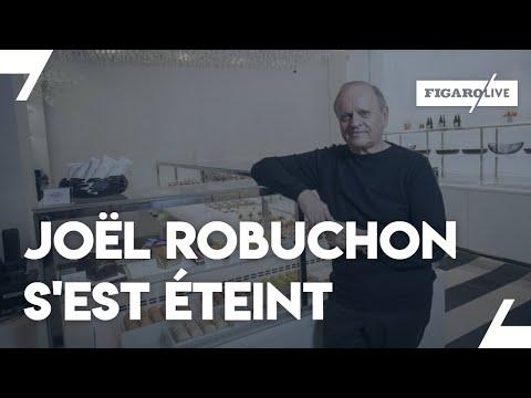 Joël Robuchon est décédé à l'âge de 73 ans