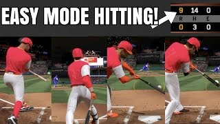 BEST MLB THE SHOW 17 HITTING TIPS! EASY HITS AND DINGERS!