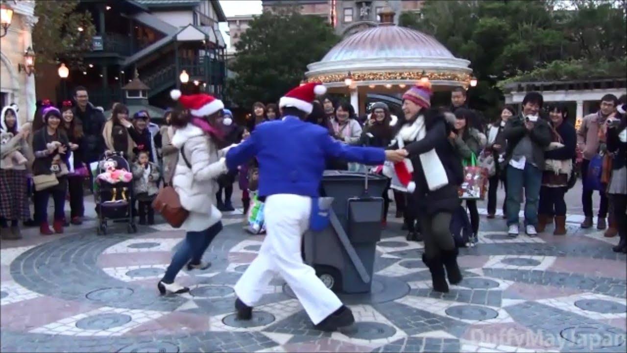 クリスマスの東京ディズニーシー 一周散歩してみた。 - youtube