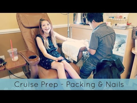 Cruise Prep - Packing & Nail Salon