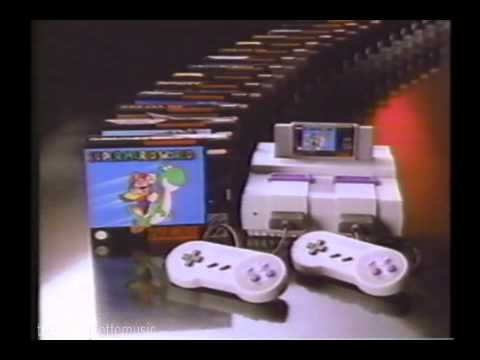 Super Nintendo Now You're Playing with SUPER Power! (1991)