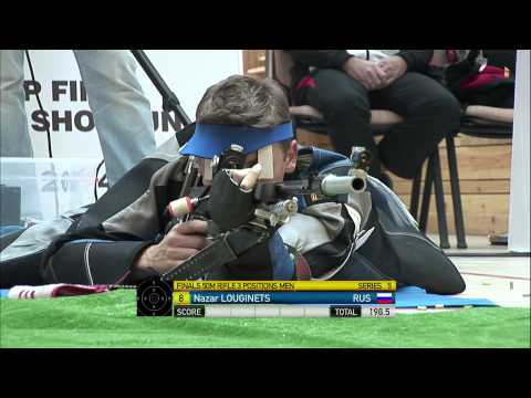 Finals 50m Rifle 3 Positions Men - ISSF World Cup Final in a