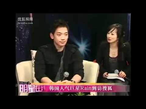 [Full]  Rain interview @ SOHU In China korean Ambassdor [ p.1]