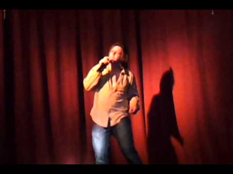 Michael Spears stripping at karaoke in Katoomba