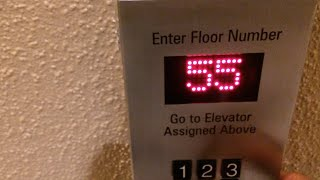 (2/3 Special Series) - Schindler Miconic 10 Elevators @ Marriott Marquis, New York, NY