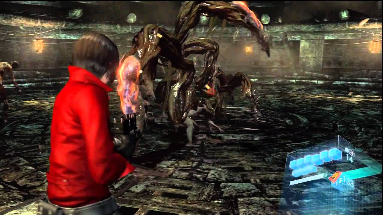 Resident Evil 6 Ada Wong Campaign Chapter 2 Youtube