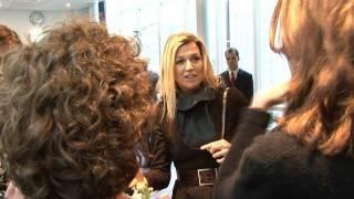 Prinses Máxima geeft impuls aan vrouwelijke ondernemers