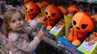 Шопинг в детском магазине игрушек куклы Shopping poupées de magasins de jouets des enfants(Miss Katy делает покупки новых игрушек, в тележке для игрушек оказались: Свинка Пеппа, Кошечка, кукла Ева и многи..., 2015-01-18T05:11:09.000Z)
