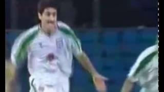 بهترین گل تاریخ کریم باقری که با اشتباه فاحش علی دایی پر پر شد