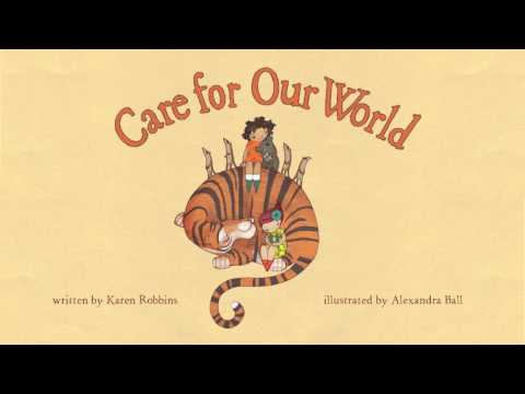 Care for Our World - interactive book - Teaser