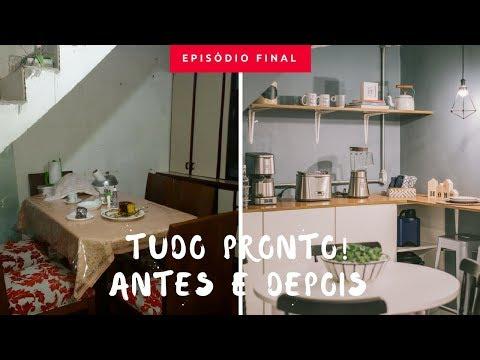 Cozinha inspirada no Pinterest ❤️ | Antes e Depois | {Fazer o quê?} | Ep. 5