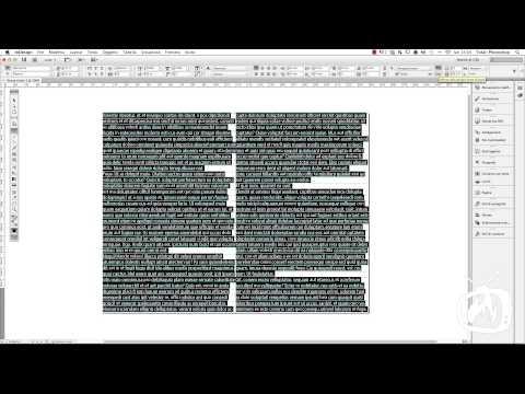 InDesign - Comporre la pagina di un libro - 1a Parte