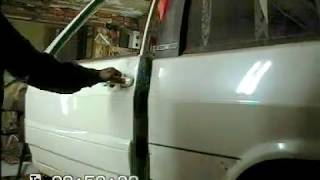 Размеры  дверного проема авто при лобовом ударе. Кузовной ремонт. BODY REPAIR
