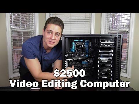 Video Editing Computer, Part 1 - Specs
