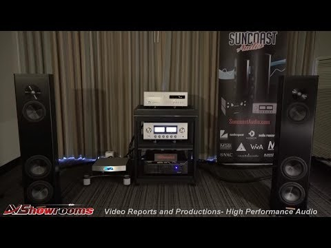 Magico A3 Loudspeakers, Suncoast Audio, Critical Mass,  Center Stage Footers, Luxman, Audioquest, Fl