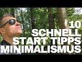 Minimalismus Lebensstil 10 Schnellstart Tipps