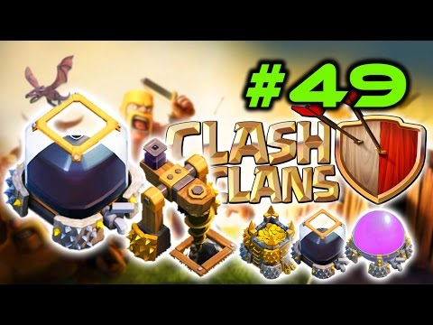 Clash Of Clans #49 - Maxed Out Dark Elixir Storage & Drill