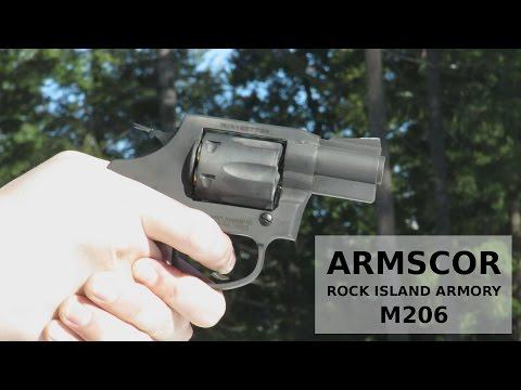 Armscor Rock Island Armory M206 - Budget .38 Special CCW Revolver