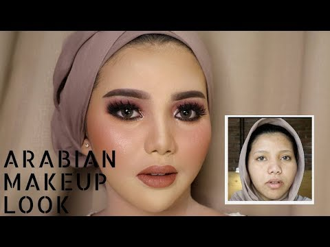 TRY ARABIAN MAKEUP WEDDING LOOK | UCHYLESTARI | BAHASA