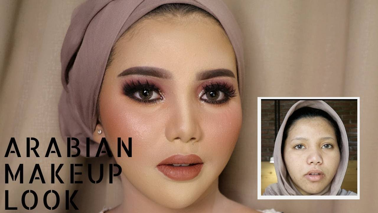 6fa7bd1116b6b TRY ARABIAN MAKEUP WEDDING LOOK | UCHYLESTARI | BAHASA - YouTube