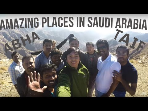 Abha & Taif Road Trip 2017 [UNBELIEVABLE PLACE IN SAUDI!!!]