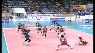 Thailand - Chinese Taipei [Full Match] Quarter Final AVC Championships 19-09-2013