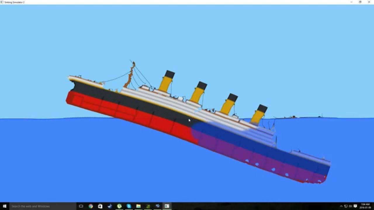 Titanic Sinking Sinking Simulator 2 Alpha 15 Youtube
