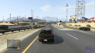 GTA V | Gameplay | Recorriendo el mapa