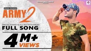 Army 2- Shanky Goswami   New Haryanvi Songs Haryanvi 2020   Vikram Pannu   Meet Bhuker Preet Mohit