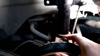 Форд Мондео 3 замена задней стойки