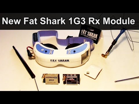 New Fat Shark 1G3 Receiver Module for Domimators, Review, Testing