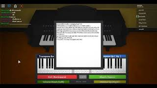 Fallout 4 Theme Roblox Piano / Virtual Piano [NOTES IN DESC]