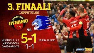 KaDy - Leijona Futsal 3.finaali 22.04.2019 MAALIKOOSTE!