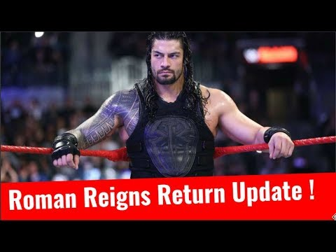 Roman Reigns Return Update Roman Reigns Pulled From WWE TLC 2017 Due to His Illness Viral Infeciton