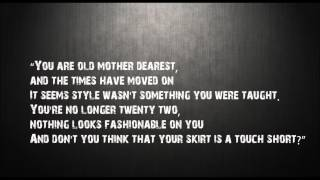 You Are Old Mother Dearest | Poem Inspired By You Are Old Father William