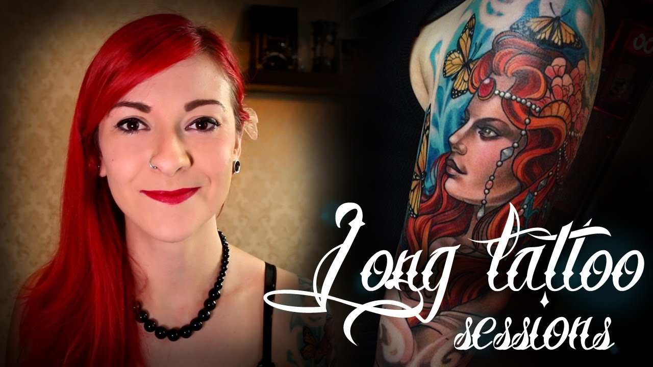 How to survive a long tattoo session halfsleeve part 2 for How long is a tattoo removal session