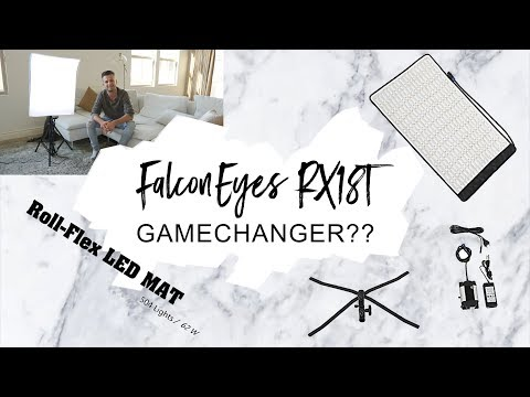 FalconEyes RX18-T 62W Review, Unboxing & Test - EPIC LED