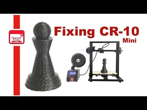 Fixing a Filament Flow Problem on CR-10 mini CR-10 or Ender 3