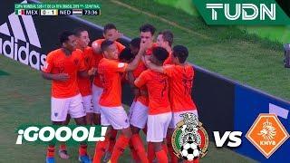 ¡Goool de Holanda! | México 0 - 1 Holanda | Mundial Brasil Sub-17 - Semifinal | TUDN