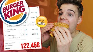 100% ZUFÄLLIG bei BurgerKing bestellt! 😱😍