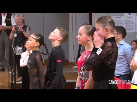 Dance awards ceremony  German Open Championship 2015 Junior I Latin
