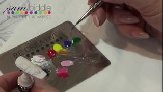 HOW TO MIX GEL PAINT