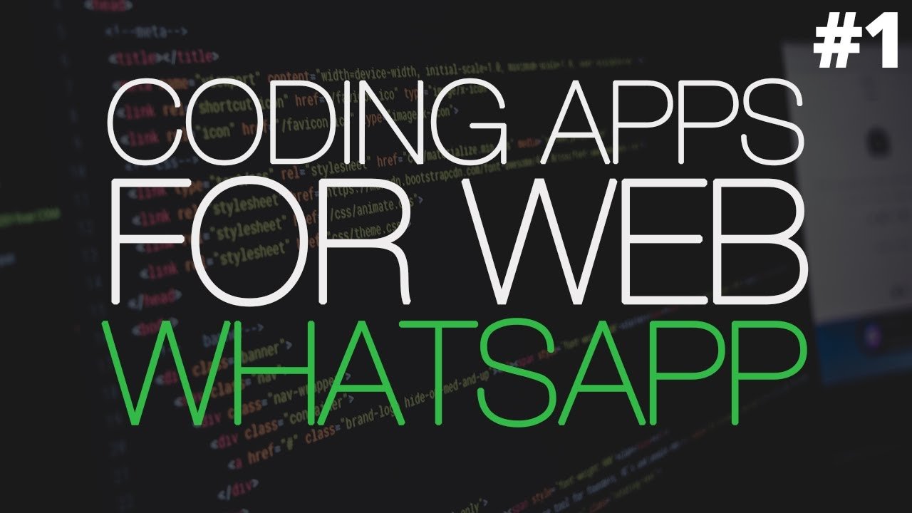 Coding Apps For Web: WhatsApp UI [HTML, CSS, jQuery]