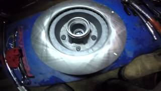 How to convert front drum brakes to disc brakes on 1966 impala